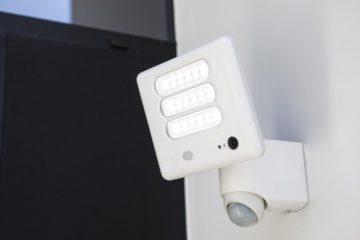Dissuader les cambrioleur à l'aide de projecteurs