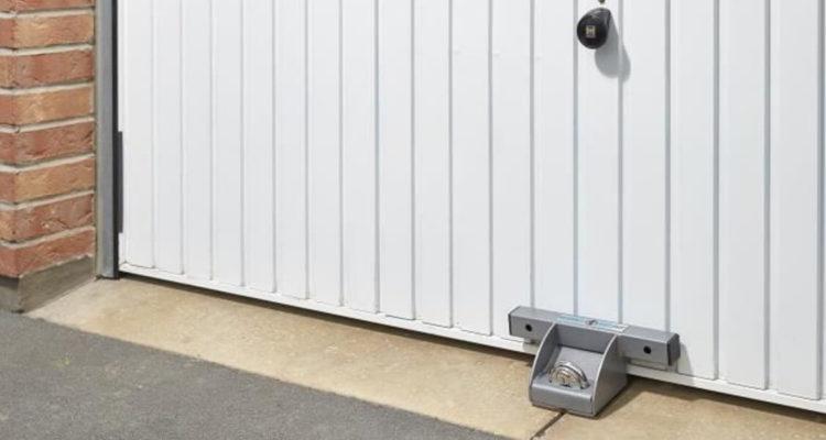 Securité anti cambriolage pour porte de garage