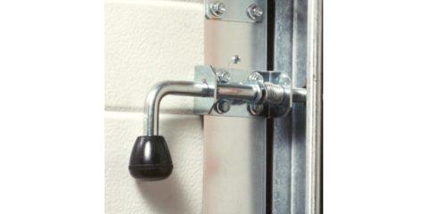 serrure pour porte de garage basculante et sectionnelle