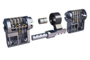 Barillet de porte ABUS BRAVUS 4000MX