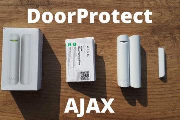 DoorProtect détecteur de mouvements AJAX