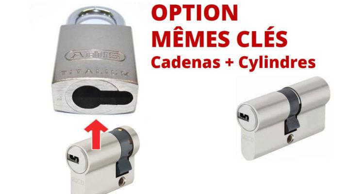 cadenas abus et demi cylindre de porte