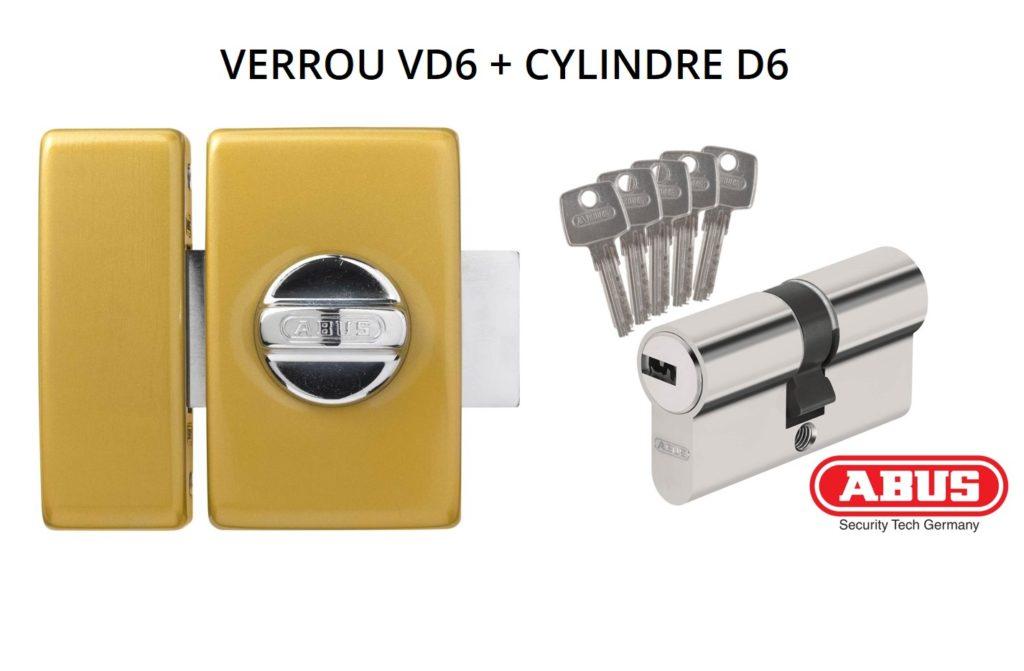 Mêmes clés verrou et cylindre