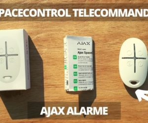 Ajax alarme anti intrusion Spacecontrol telecommande