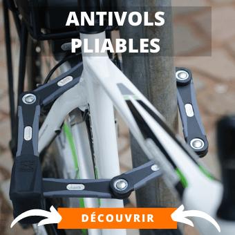 Antivol vélo pliable